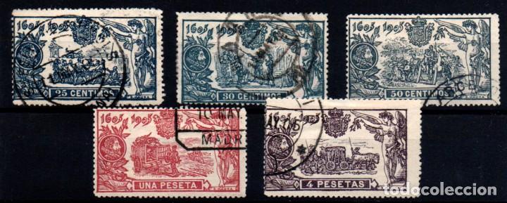 ESPAÑA Nº 260/61, 263/5. AÑO 1905 (Sellos - España - Alfonso XIII de 1.886 a 1.931 - Usados)