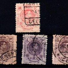 Sellos: ESPAÑA Nº 276, 279. AÑO 1909/22. Lote 245890885