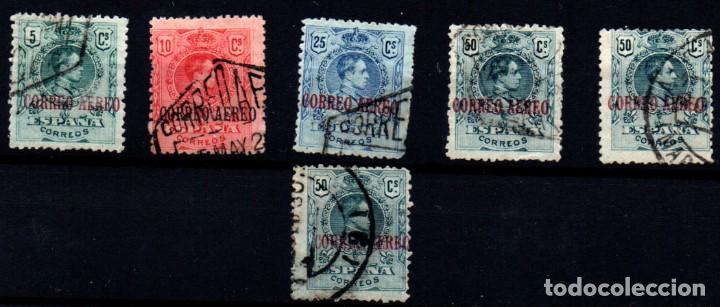 ESPAÑA Nº 292/5. AÑO 1920 (Sellos - España - Alfonso XIII de 1.886 a 1.931 - Usados)