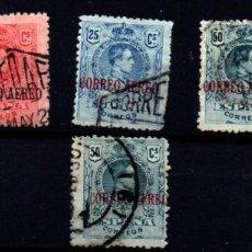 Sellos: ESPAÑA Nº 292/5. AÑO 1920. Lote 245891160