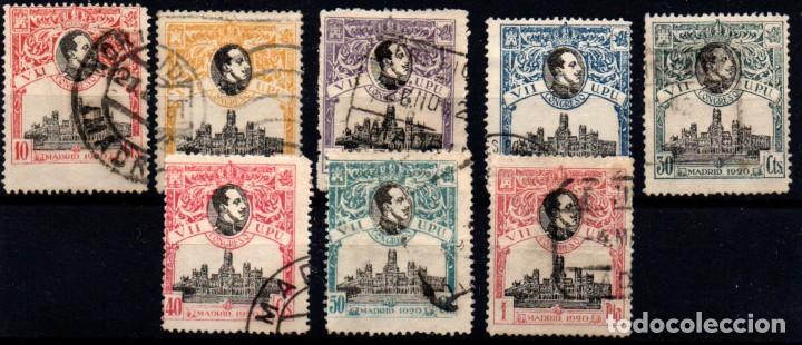 ESPAÑA Nº 300/307. AÑO 1920 (Sellos - España - Alfonso XIII de 1.886 a 1.931 - Usados)