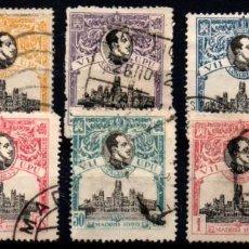 Sellos: ESPAÑA Nº 300/307. AÑO 1920. Lote 245892265