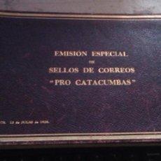 Sellos: 418C. 1928. CARNET DE LA SERIE PRO CATACUMBAS CON LAS SOBRECARGAS TOLEDO Y SANTIAGO. Lote 248262745