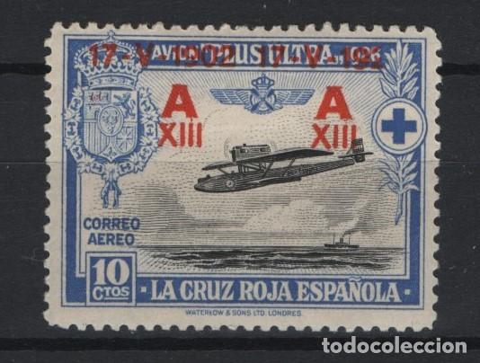 TV_003/ ESPAÑA 1927, EDIFIL 364*, JURA ALFONSO XIII (Sellos - España - Alfonso XIII de 1.886 a 1.931 - Nuevos)