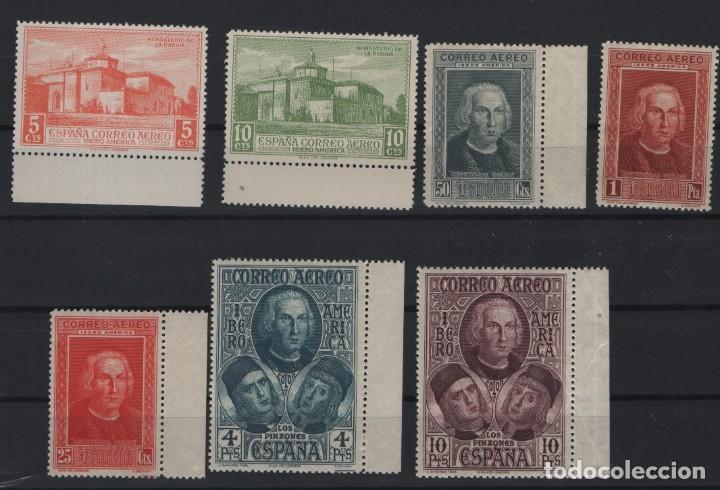 R15/ ESPAÑA 1930, EDIFIL 559/65 **, DESCUBRIMIENTO DE AMERICA, CATALOGO 35,00 € (Sellos - España - Alfonso XIII de 1.886 a 1.931 - Nuevos)