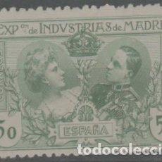 Sellos: LOTE (28) SELLOS EXPOSICION INDUSTRIAL MADRID NUEVO CON CHSRNENA. Lote 252043560