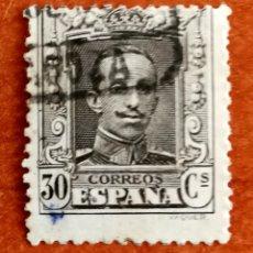 Sellos: ESPAÑA N°318 USADO (FOTOGRAFÍA REAL). Lote 253132825