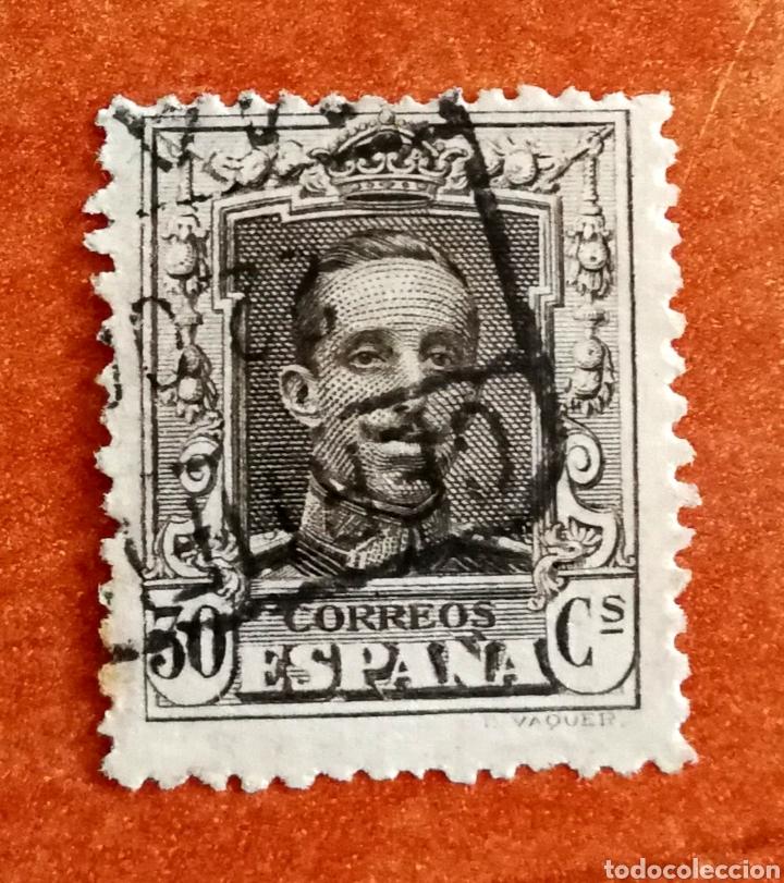 ESPAÑA N°318 USADO (FOTOGRAFÍA REAL) (Sellos - España - Alfonso XIII de 1.886 a 1.931 - Usados)