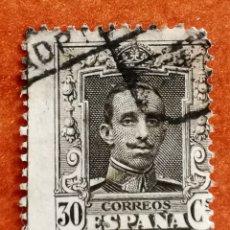 Sellos: ESPAÑA N°318 USADO (FOTOGRAFÍA REAL). Lote 253133250