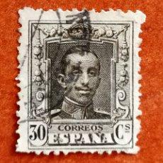 Sellos: ESPAÑA N°318 USADO (FOTOGRAFÍA REAL). Lote 253133490