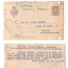 Sellos: ALFONSO XIII 15 CS. VALENCIA. 1927. Lote 253428885