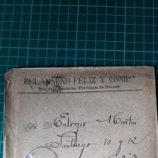 Sellos: LA RUA VALDEORRAS ORENSE BELARMINO FELIZ Y COMPAÑIA DIRIGIDO MADRID 1903 EDIFIL 246 USADO. Lote 253670785