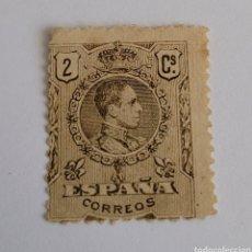 Sellos: SELLO DE ESPAÑA 1920. ALFONSO XLLL TIPO MEDALLON 2 CTS. NUEVO. Lote 253957190