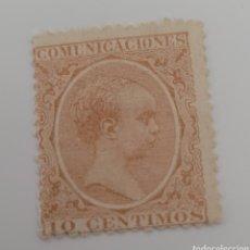 Sellos: SELLO DE ESPAÑA 1889. ALFONSO XIII. 10 CÉNTIMOS. NUEVO.. Lote 255405755