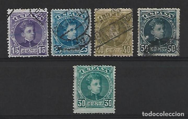 ESPAÑA (Sellos - España - Alfonso XIII de 1.886 a 1.931 - Usados)