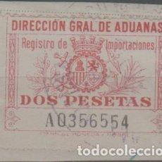 Sellos: LOTE B2-SELLO VIÑETA TIMBRE DIRECCION DE ADUANAS. Lote 257659760