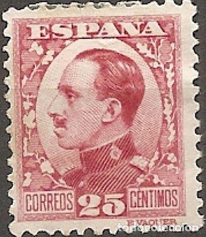 EDIFIL 495 NUEVOS CENTRADO DE LUJO ESPAÑA 1930 1931 ALFONSO XIII TIPO VAQUER PERFIL (Sellos - España - Alfonso XIII de 1.886 a 1.931 - Nuevos)