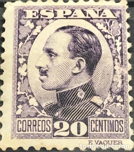 EDIFIL 494 NUEVOS CENTRADO DE LUJO ESPAÑA 1930 1931 ALFONSO XIII TIPO VAQUER PERFIL (Sellos - España - Alfonso XIII de 1.886 a 1.931 - Nuevos)