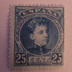 Sellos: SELLO DE ESPAÑA 1901. ALFONSO XIII CADETE 25 CTS NUEVO. Lote 258251330