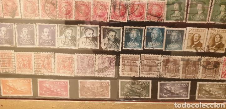 Sellos: 354 sellos nacionales enmarcados de serie y repetidos - Foto 4 - 259726775