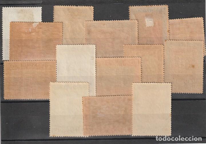 Sellos: España.Edifil nº517-530.Aereos de la Quinta de Goya.Completa.Nuevos con charnela. - Foto 2 - 259763375