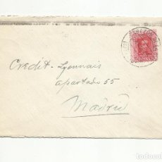 Sellos: CIRCULADA 1926 DE CABEZON DE LA SAL SANTANDER A MADRID. Lote 259814630
