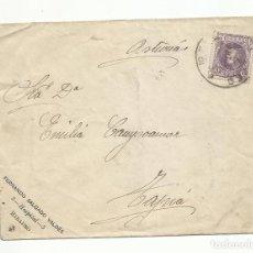 Sellos: CIRCULADA 1905 DE RIBADEO A TAPIA ASTURIAS POR CASTROPOL. Lote 259824865