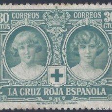 Francobolli: EDIFIL 332 PRO CRUZ ROJA ESPAÑOLA 1926. VALOR CATÁLOGO: 123 €. MNG (SALIDA: 0,01 €).. Lote 260081515