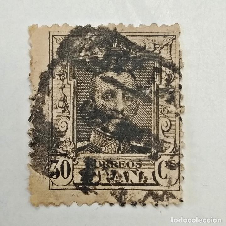 ESPAÑA. SELLO USADO DE 30 CS, DE 1922 (BL9). ALFONSO XIII. ENVÍO GRATIS POR PEDIDOS DE 3€ O MÁS. (Sellos - España - Alfonso XIII de 1.886 a 1.931 - Usados)