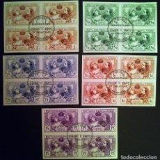 Selos: SELLOS EXPOSICIÓN INDUSTRIAL DE MADRID 1907. Lote 260584450