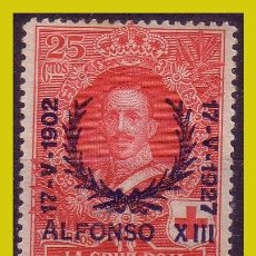 Francobolli: 1927 XXV ANIVº JURA CONSTITUCIÓN ALFONSO XIII, EDIFIL Nº 355 *. Lote 261131515