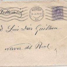Sellos: ESPAÑA.CARTA CIRCULADA.AÑO 1914.. Lote 261233340
