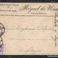 Sellos: ESPAÑA.AÑO 1925 VALLADOLID.( 15 CÉNTIMOS, EDIFIL 246DV) .. Lote 261237885