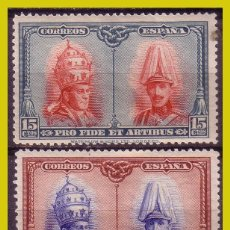 Francobolli: 1928 PRO CATACUMBAS, EDIFIL Nº 408 Y 409 *. Lote 261678515