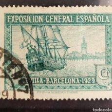 Sellos: ESPAÑA N°434 USADO (FOTOGRAFÍA REAL). Lote 261962140