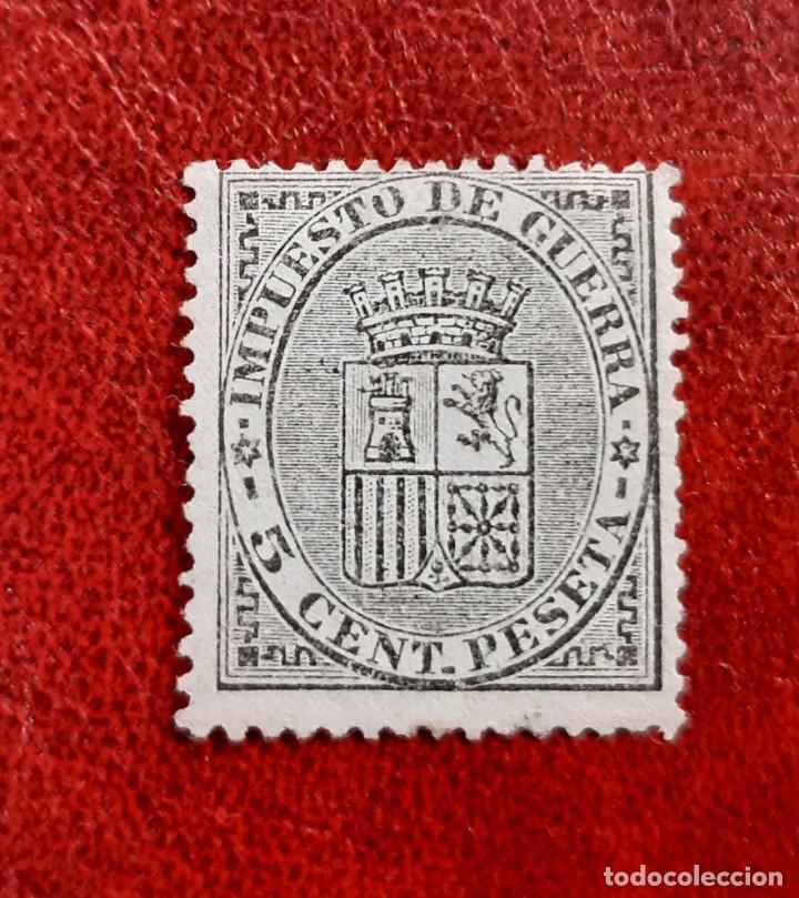 ESPAÑA 1874. EDIFIL 141*. NUEVO (Sellos - España - Alfonso XIII de 1.886 a 1.931 - Nuevos)