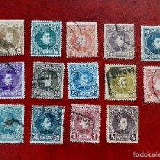 Sellos: ESPAÑA 1901/1905. EDIFIL 241/54 CIRCULADOS.. Lote 262000020