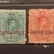 Selos: AÑO 1920 ALFONSO XIII TIPO MEDALLON NUEVO CON FIJASELLO EDIFIL 292-293 VALOR DE CATALOGO 5.10 EUROS. Lote 262011550