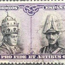 Sellos: EDIFIL 418 SELLOS ESPAÑA AÑO 1928 USADOS BIEN CENTRADOS PRO CATACUMBAS. Lote 262201420