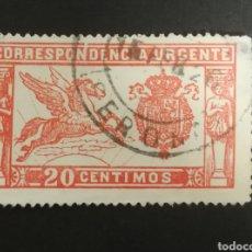 Sellos: ESPAÑA N°324 USADO (FOTOGRAFÍA REAL). Lote 262298100