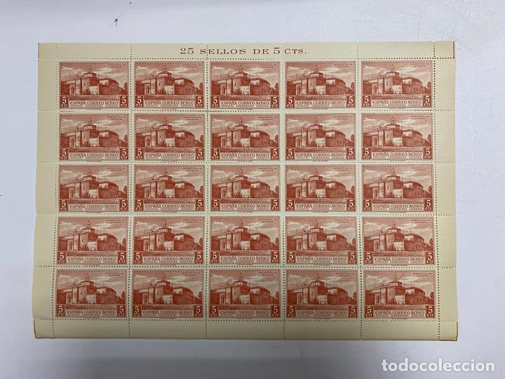 ESPAÑA, 1930. EDIFIL 548. PLIEGO. 25 SELLOS DE 5 CTS. NUEVOS. SIN CHARNELA. VER (Sellos - España - Alfonso XIII de 1.886 a 1.931 - Nuevos)