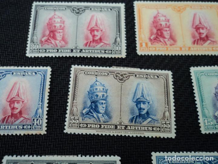 Sellos: 10 sellos España nuevos año 1928 Pro Catacumbas serie para santiago, los de las fotos - Foto 2 - 263107240
