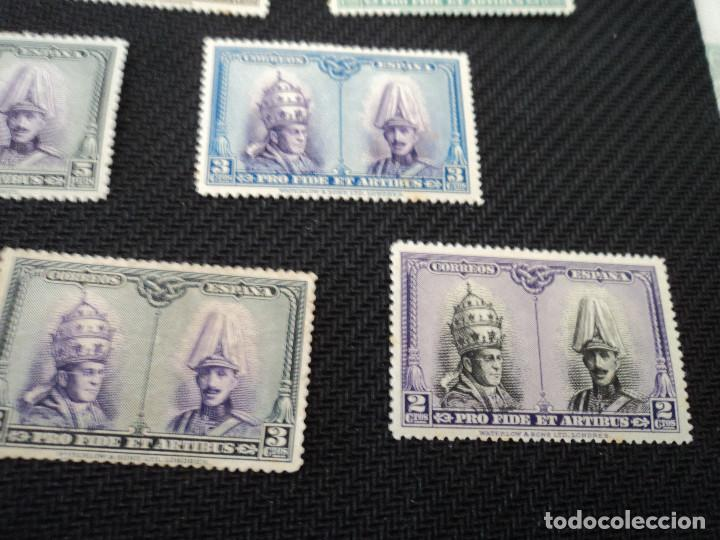 Sellos: 10 sellos España nuevos año 1928 Pro Catacumbas serie para santiago, los de las fotos - Foto 3 - 263107240
