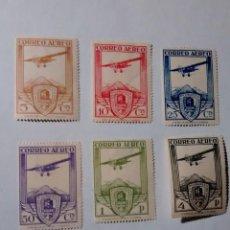 Sellos: 483/8 * 1930 XI CONGRESO INTERNACIONAL FERROCARRILES, REIMPRESIONES. Lote 263201175