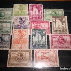 Sellos: 434/47 * 1929 EN BUEN ESTADO PRO EXPOSICIONES SEVILLA Y BARCELONA. Lote 263199450