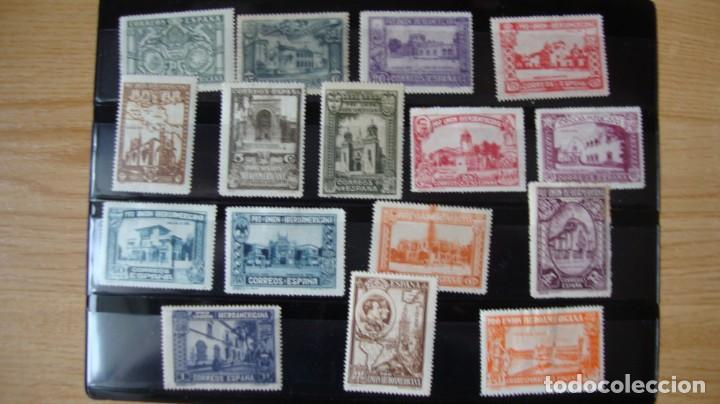 ESPAÑA 1930 DIVERSOS VALORES PRO UNION IBEROAMERICANA VER FOTOS (Sellos - España - Alfonso XIII de 1.886 a 1.931 - Nuevos)