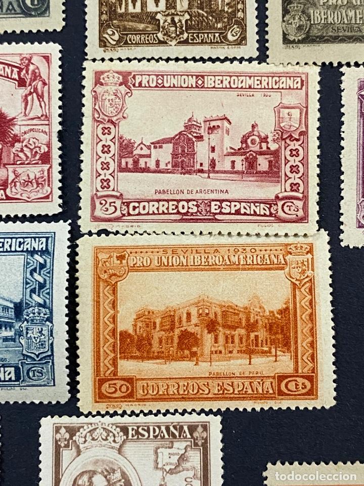 Sellos: ESPAÑA, 1930. EDIFIL 566/82. SERIE COMPLETA. NUEVOS. CON CHARNELA. - Foto 9 - 264131365