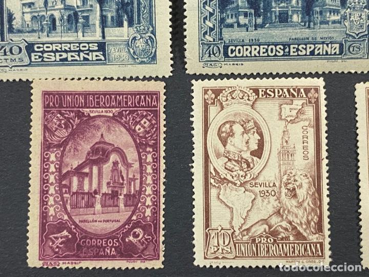 Sellos: ESPAÑA, 1930. EDIFIL 566/82. SERIE COMPLETA. NUEVOS. CON CHARNELA. - Foto 11 - 264131365