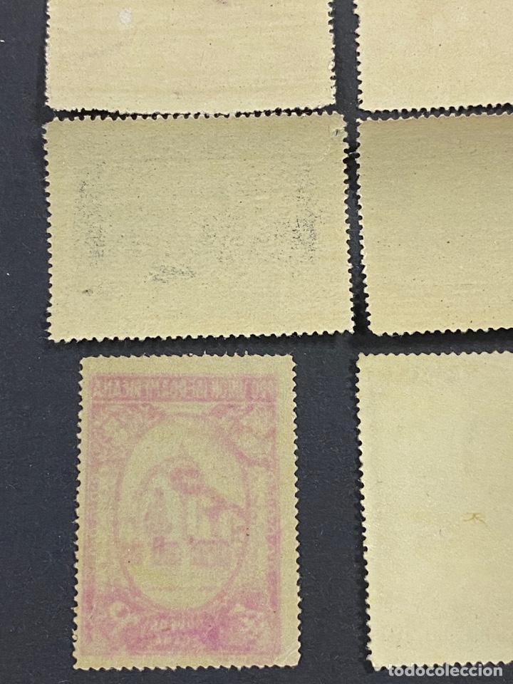 Sellos: ESPAÑA, 1930. EDIFIL 566/82. SERIE COMPLETA. NUEVOS. CON CHARNELA. - Foto 21 - 264131365