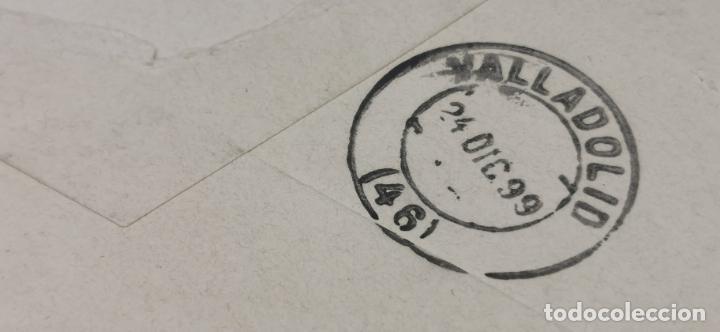 Sellos: SOBRE VALLADOLID CON SELLO MINISTERIO DE GRACIA Y JUSTICIA AÑO 1899 - Foto 3 - 264292816